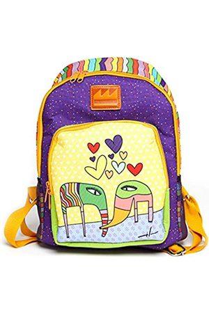 Deke Home Milo Lockett Art Rucksack für Damen, Mädchen, Teenager, Herren, Schultasche, Reise, Uni, kleiner Laptop-Rucksack, wasserdicht, Anti-Diebstahl
