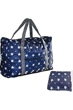 Unova Reisetasche, verstaubar, leicht, Nylon, wasserabweisend, für das Fitnessstudio, Wochenende über Nacht, Handgepäck, Schulter