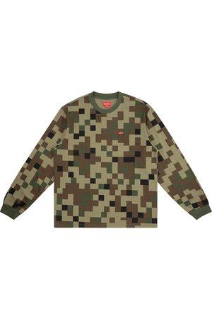 Supreme Longsleeves - Langarmshirt mit kleinem Logo