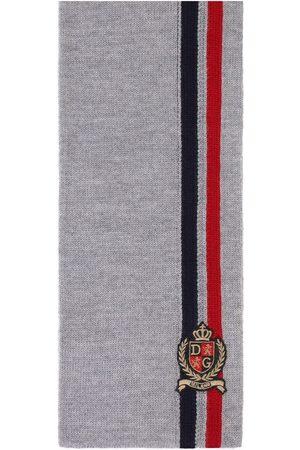 Dolce & Gabbana Schal mit Logo-Stickerei