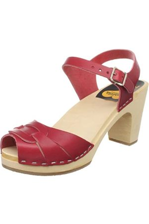 Swedish Hasbeens Damen 432 Sandale,Cerise