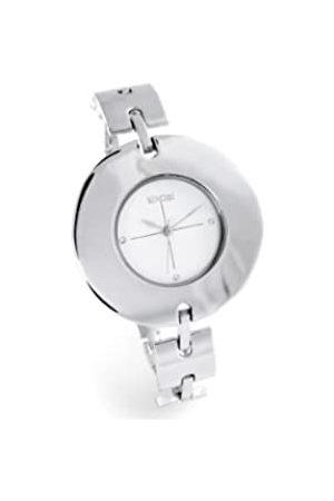 Sinobi Damen-Armbanduhr XS Analog Quarz Edelstahl beschichtet 911/BL