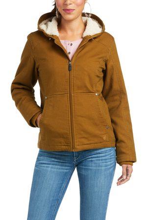 Ariat Damen Jacken - Women's R.E.A.L. Outlaw Jacket Long Sleeve in Kelp Forest Cotton