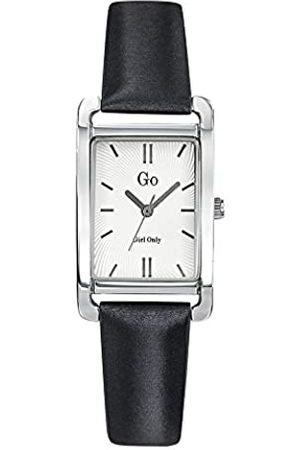 GO Girl Only Damen Analog Quarz Uhr mit Leder Armband 699113