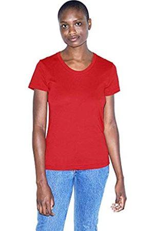 American Apparel Damen 50/50 Classic Crewneck Short Sleeve T-Shirt