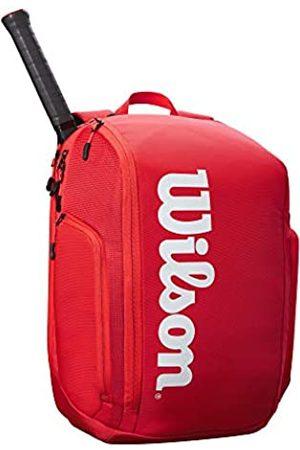 Wilson Sporting Goods Unisex-Erwachsene SUPER Tour Backpack RED Tasche
