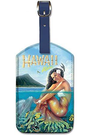 Pacifica Island Art Leatherette Luggage Baggage Tag - Hawaii Aloha by Westmoreland