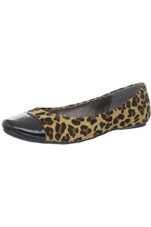 Kenneth Cole Slipified Flache Damen-Schuhe, Gelb (Leopard)