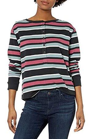 RVCA Damen Siege TOP Henley Shirt