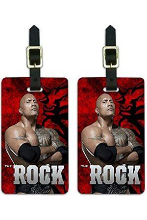 Graphics and More WWE The Rock Bull Gepäckanhänger für Koffer