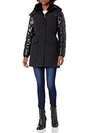 Calvin Klein Damen Womens Zip Front polyfill anorack parka Daunenalternative, Mantel