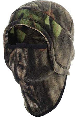 Zeek Outfitter Fleece-Ohrenklappen mit angenähtem Nacken- und Gesichtsschutz, Herren