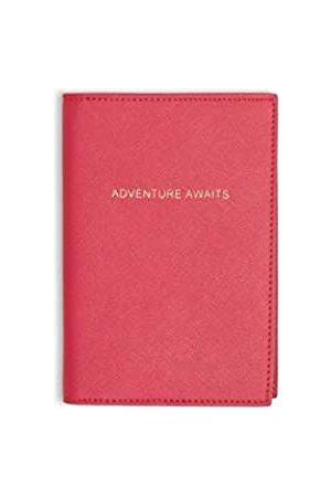 Katie Loxton Schutzhülle für Reisepässe, Aufschrift 'Adventure Awaits'