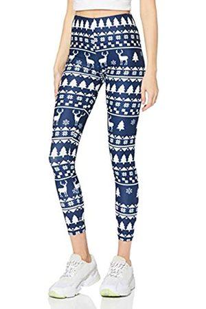 cosey Damen Christmas Leggings