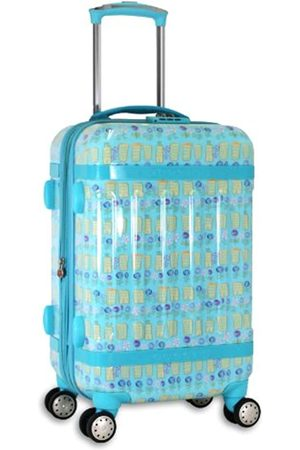 J WORLD NEW YORK Taqoo Handgepäck aus Polycarbonat (Blau) - JLH-2600