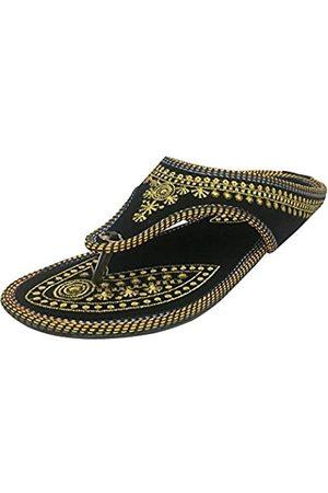 Step N Style Handgefertigte Jaipuri Sandal Schuhe Punjabi Jutti Freizeitschuhe Khussa Schuhe