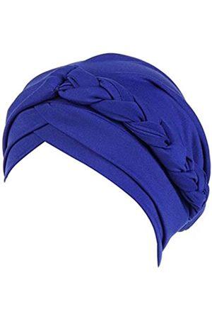 beauty YFJH Chemo-Mütze, Krebs, Turban, Kopfschutz, gedreht, Hijab, seidiger Zopf