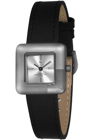 Akzent Damen-Uhren mit Echtlederband 321522819003