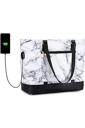 BLUBOON Damen Laptop-Tragetasche Arbeitstasche Handtasche passend für 15