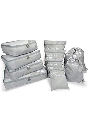 Magigo Zzkx 10 Set Gepäck-Organizer für Reisen mit Packwürfeln, schmutzige Wäschebeutel