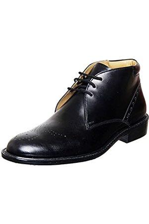 Liberty Footwear LIBERTYZENO Herren handgefertigte Leder Chukka Boots Schnürverschluss High Ankle Dress Schuhe