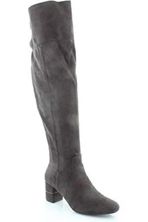 Alfani Womens Novaa Fabric Almond Toe Over Knee Fashion Boots