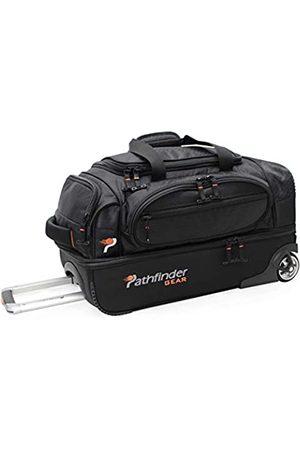 Pathfinder Gear 22 Inch Rolling Drop Bottom Duffel, Black