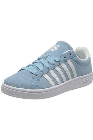 K-Swiss Damen Court TIEBREAK SDE Sneaker, Sky Blue/White
