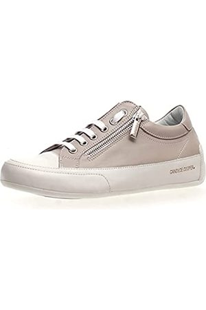 Candice Cooper Damen Halbschuhe - Damen R.Deluxe Zip Oxford-Schuh, Bianco-Chat Grey