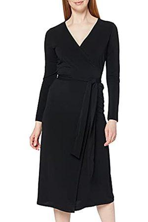 MERAKI Damen Freizeitkleider - Amazon-Marke: Damen Maxi-Wickelkleid, 34