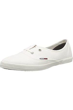 Tommy Hilfiger Damen J1385OHANNA 1D Sneakers, (Whisper White 121)