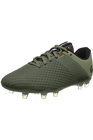 Canterbury Herren Phoenix 3.0 Pro Firm Ground Rugby-Schuhe, Deep Lichen Green/Black/ Puffin39 Blurosso Bill