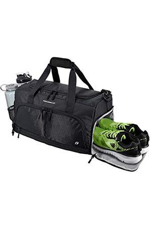 FocusGear Ultimate Gym Bag 2.0: Der strapazierfähige Duffel Bag im Crowdsource Design mit 10 optimalen Fächern inklusive wasserabweisender Tasche