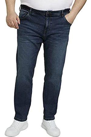 TOM TAILOR Men+ Herren Jeansjacken - Herren 1026651 Plussize Slim Jeans, 10281-Mid Stone Wash Denim