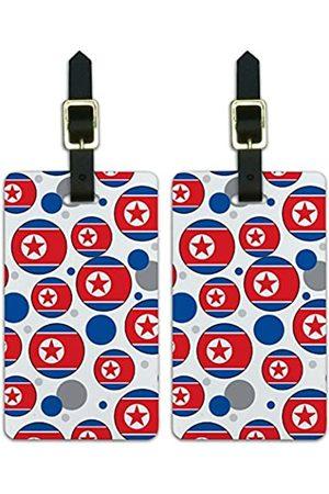 Graphics and More Graphics & More Nationalflagge J-n-Nordkorea - Luggage.Tags.09654