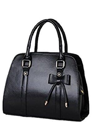 Catkit Vintage OL Style Damen Handtasche mit Schleife, Schultertasche, Aktentasche