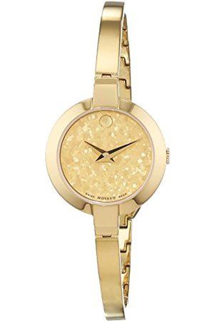 Movado Damen Uhren - DamenDatumklassischQuarzUhrmitEdelstahlArmband607018