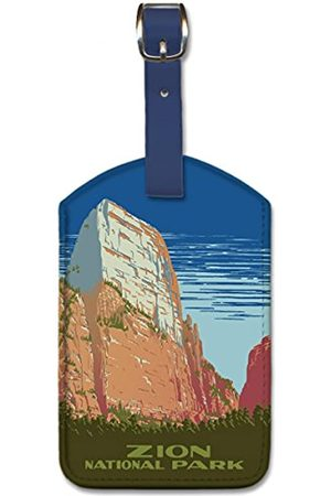 Pacifica Island Art Leatherette Luggage Baggage Tag - Zion National Park