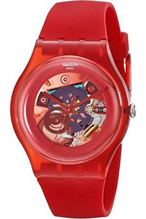 Swatch Unisex-Armbanduhr Analog Plastik SUOR101