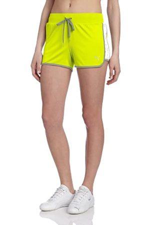 PUMA Damen Overtime Shorts - Gelb - Klein