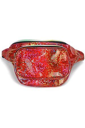 Mum's memory Holografische Bauchtaschen für Frauen – Wasserabweisende metallische Hüfttasche für Wandern Reisen Radfahren - HGS11001A01
