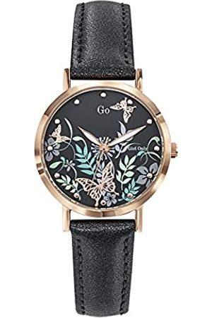 GO Girl Only Damen Analog Quarz Uhr mit Leder Armband 699180