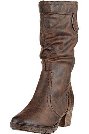 Soft Line Damen 25661-21 Hohe Stiefel, (Chestnut 328)