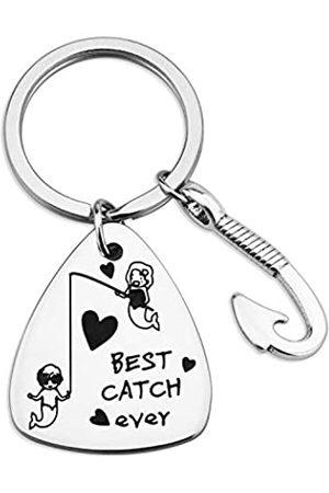 SIDIMELO Angelköder zum Valentinstag für die Freundin You're The Best Catch Ever Jewely Make Loved One Feel More Loved On Heart's Day