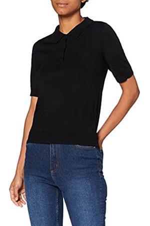 MERAKI Damen Pullover aus Merinowolle, (Black), 38