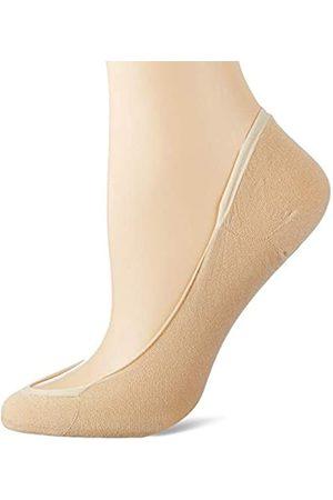 Levante Damen Steps Ballerina Füßlinge (2 Paar)-naturel-39-42 Innensocken