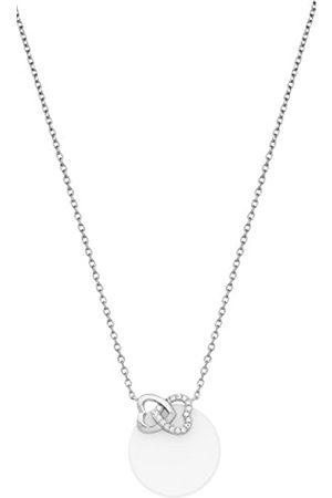 Ceranity Damen-Halskette mit Anhänger Sterling- 925 Zirkonia 45 cm 1-72/0044-B