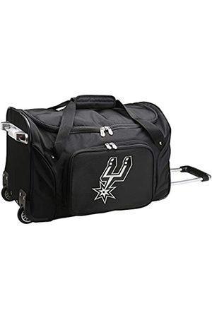 Denco Reisetaschen - NBA San Antonio Spurs Reisetasche mit Rollen, NBSPL401, 55,9 x 30