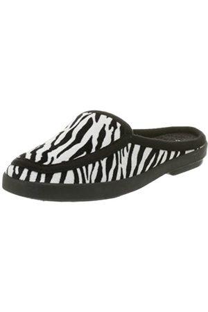 Deer Stags Damen Knightsbridge Scuff, Mehrere (Zebra)