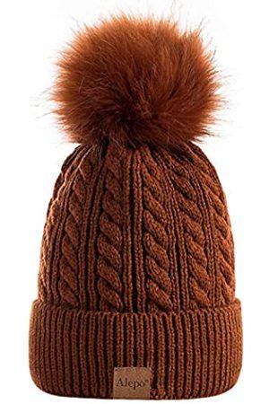 Alepo Damen Hüte - Damen Wintermütze, warm mit Fleece gefüttert, gestrickt, weich